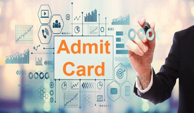 UP NHM CHO Admit Card 2021