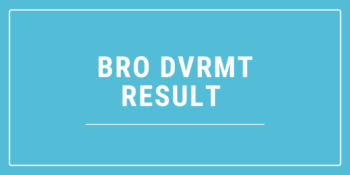 BRO Result 2021