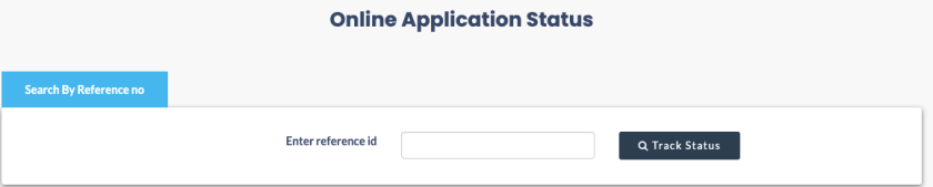 nvsp online application status