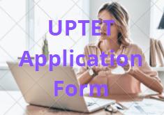 UPTET 2021 Application Form