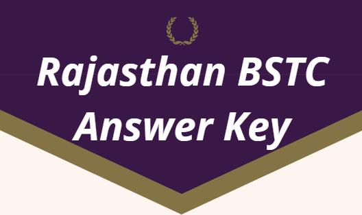 BSTC Answer Key 2021