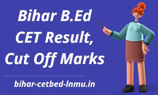 Bihar B.Ed Result 2021