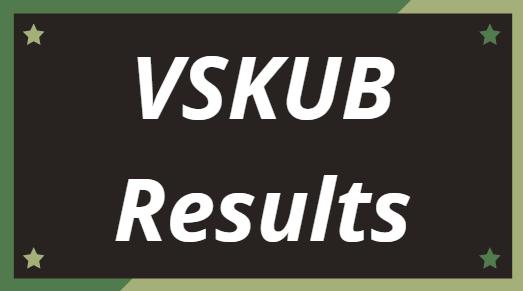 VSKUB Results 2021