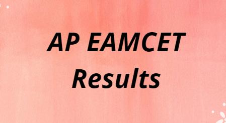sche.ap.gov.in AP EAMCET Results 2021
