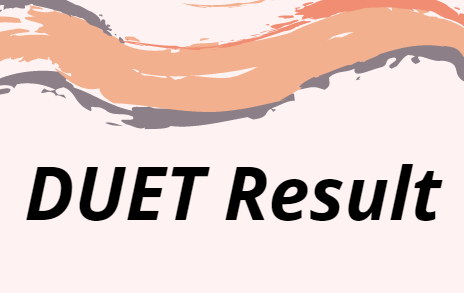DUET परिणाम 2021
