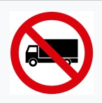 No Entry For Goods Vehicle