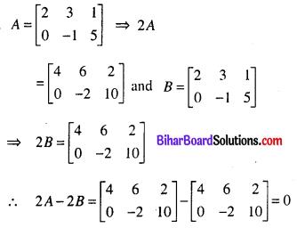 Bihar Board 12th Maths Model Question Paper 5 in English Medium SAQ Q23.1