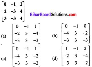 Bihar Board 12th Maths Objective Answers Chapter 3 Matrices Q30