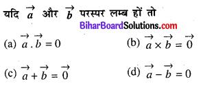 Bihar Board 12th Maths VVI Objective Questions Model Set 2 in Hindi Q22