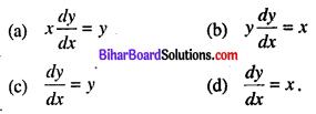 Bihar Board 12th Maths VVI Objective Questions Model Set 2 in Hindi Q47