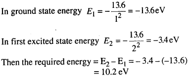 Bihar Board 12th Physics Objective Answers Chapter 12 Atoms in english medium 10