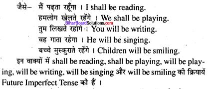 Bihar Board Class 8 English Grammar Tenses 8