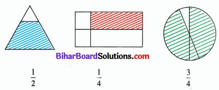 Bihar Board Class 6 Maths Solutions Chapter 7 भिन्न Ex 7.1 Q3