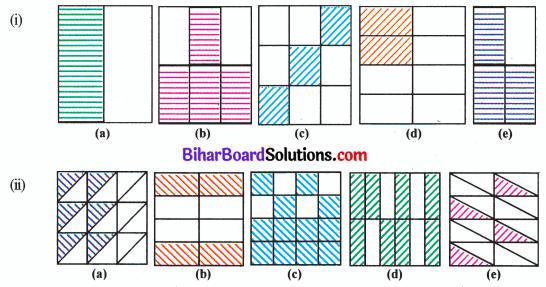 Bihar Board Class 6 Maths Solutions Chapter 7 भिन्न Ex 7.3 Q2