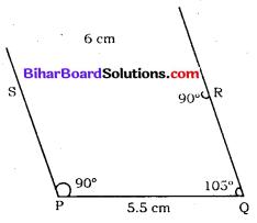Bihar Board Class 8 Maths Solutions Chapter 7 ज्यामितीय आकृतियों की रचना Ex 7.4 Q2