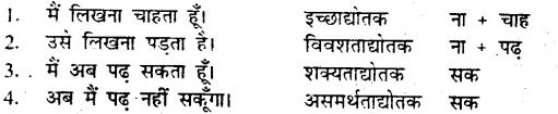 Bihar Board Class 9 Hindi व्याकरण परसर्ग 'ने' का क्रिया पर प्रभाव - 3