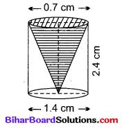 Bihar Board Class 10 Maths Solutions Chapter 13 पृष्ठीय क्षेत्रफल एवं आयतन Ex 13.1 Q8