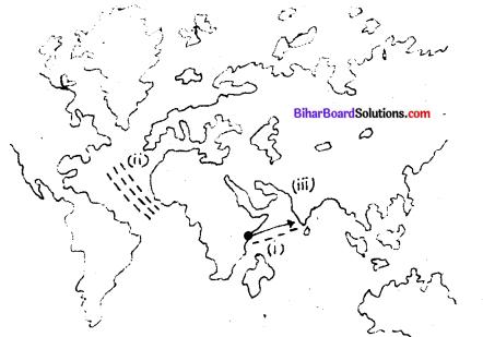 भौगोलिक खोजें Bihar Board Class 9 History