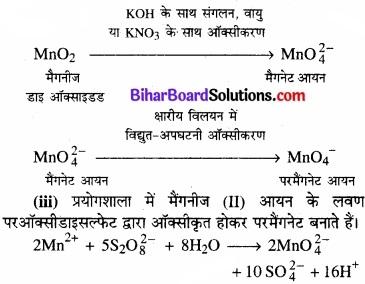 BIhar Board Class 12 Chemistry Chapter 8 d एवं f-ब्लॉक के तत्त्व img 4