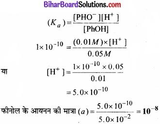 Bihar Board Class 11 Chemistry chapter 7 साम्यावस्था