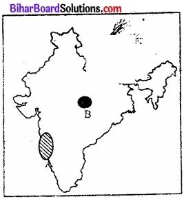 Bihar Board Class 12 Geography Solutions मानचित्र संबंधी प्रश्न एवं उत्तर img 3