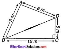 Bihar Board Class 9 Maths Solutions Chapter 12 हीरोन का सूत्र Ex 12.2 1