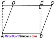 Bihar Board Class 9 Maths Solutions Chapter 9 समान्तर चतुर्भुज और त्रिभुजों के क्षेत्रफल Ex 9.4 Q 1