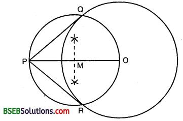 Bihar Board Class 10th Maths Solutions 11 Constructions Ex 11.2 1