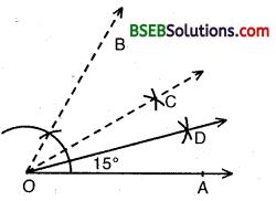 Bihar Board Class 9th Maths Solutions Chapter 11 Constructions Ex 11.1 5