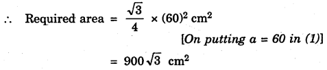 Bihar Board Class 9th Maths Solutions Chapter 12 Heron's Formula Ex 12.1 2