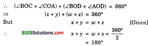 Bihar Board Class 9th Maths Solutions Chapter 6 Lines and Angles Ex 6.1 5