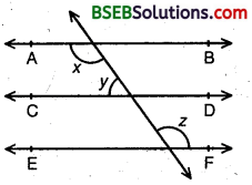 Bihar Board Class 9th Maths Solutions Chapter 6 Lines and Angles Ex 6.2 3
