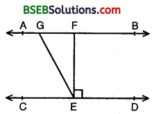 Bihar Board Class 9th Maths Solutions Chapter 6 Lines and Angles Ex 6.2 5