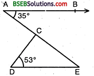 Bihar Board Class 9th Maths Solutions Chapter 6 Lines and Angles Ex 6.3 4