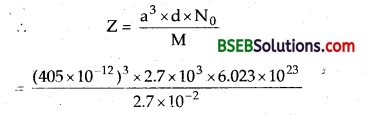 Bihar Board Class 12 Chemistry Solutions Chapter 1 The Solid State 24