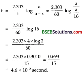 Bihar Board Class 12 Chemistry Solutions Chapter 4 Chemical Kinetics 19