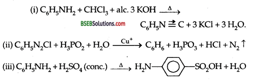 Bihar Board Class 12 Chemistry Solutions Chapter 13 Amines 63