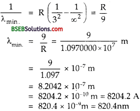Bihar Board Class 12th Physics Solutions Chapter 12 Atoms - 2