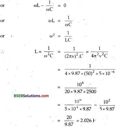 Bihar Board Class 12th Physics Solutions Chapter 7 Alternating Current 120