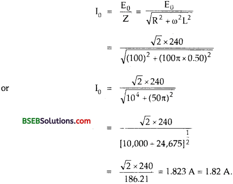Bihar Board Class 12th Physics Solutions Chapter 7 Alternating Current 15