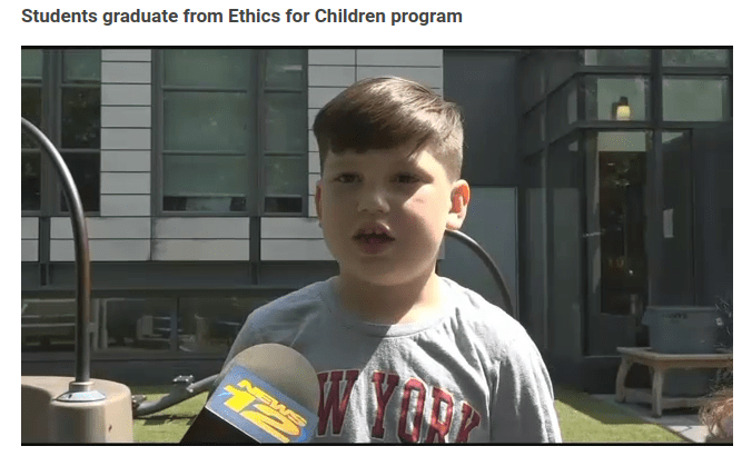 Ethics for Children on News 12