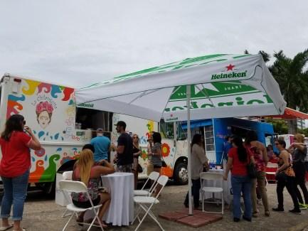 El colorido foodtruck de comida mexicana, La Chilanguita.