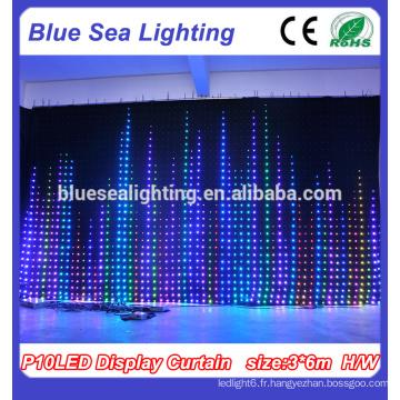 chine decoration de fete rideau a led flexible pour rideau d ecran a led fabricants