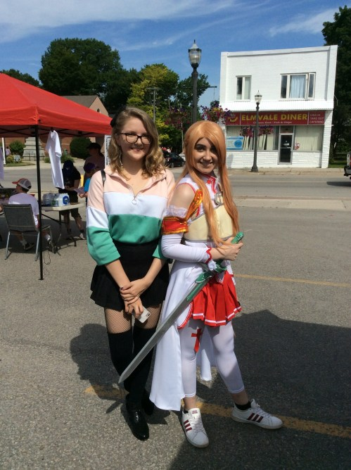 Asuna and friend
