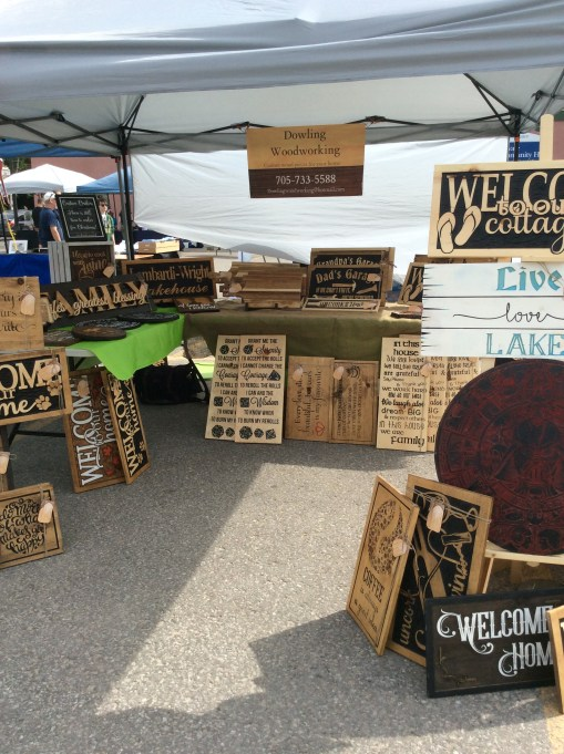 Dowling Woodworking booth