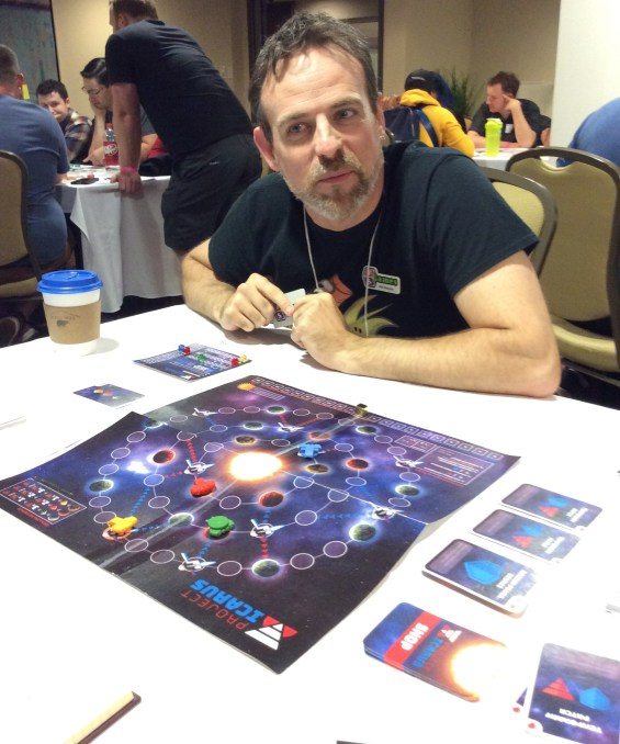 Bill wins at Project Icarus at ProtoTO