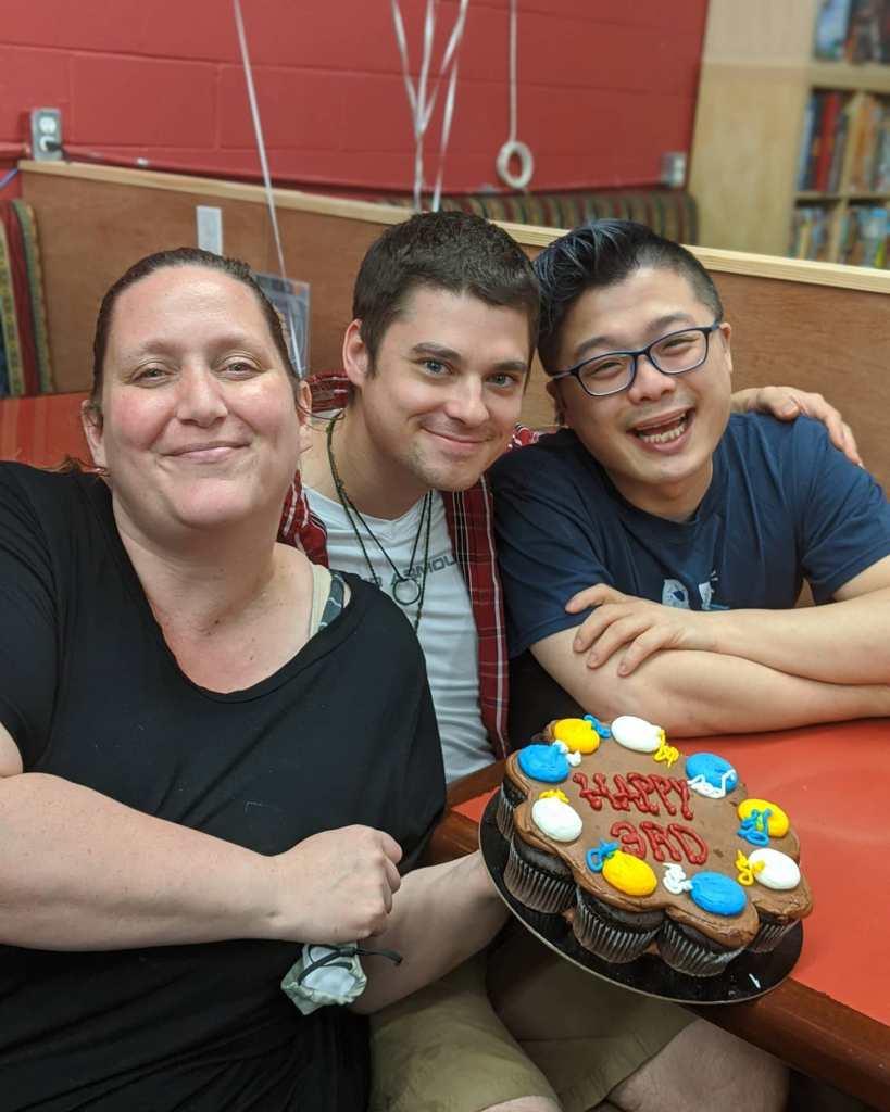 Kellen, Ken, and Debbie