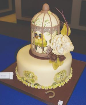 LOUISE SUMNER GOLD AND TROPHY and BEST SUGARPASTE