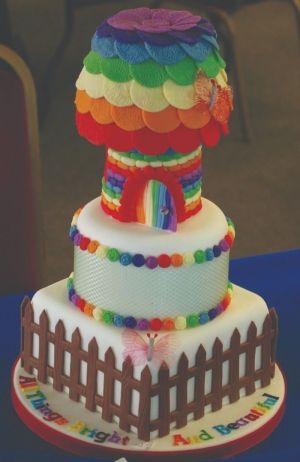 Petra Skinner Rainbow Cake Bronze Winner