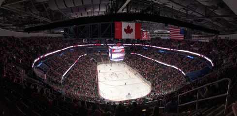 NHL ice rink